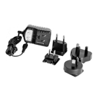 MicroUSB-Netzteil inkl. Adapter, 5 V / 2 A